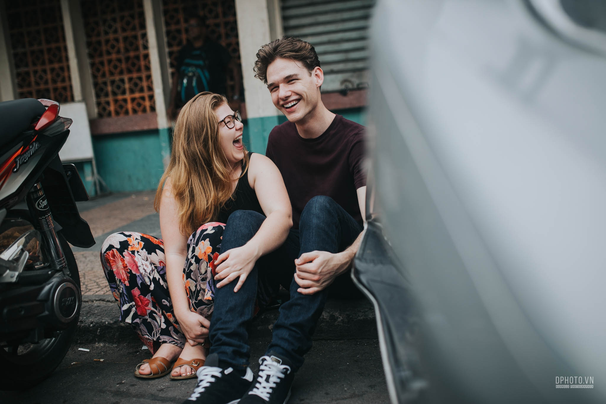 ho chi minh city engagement photo session 21
