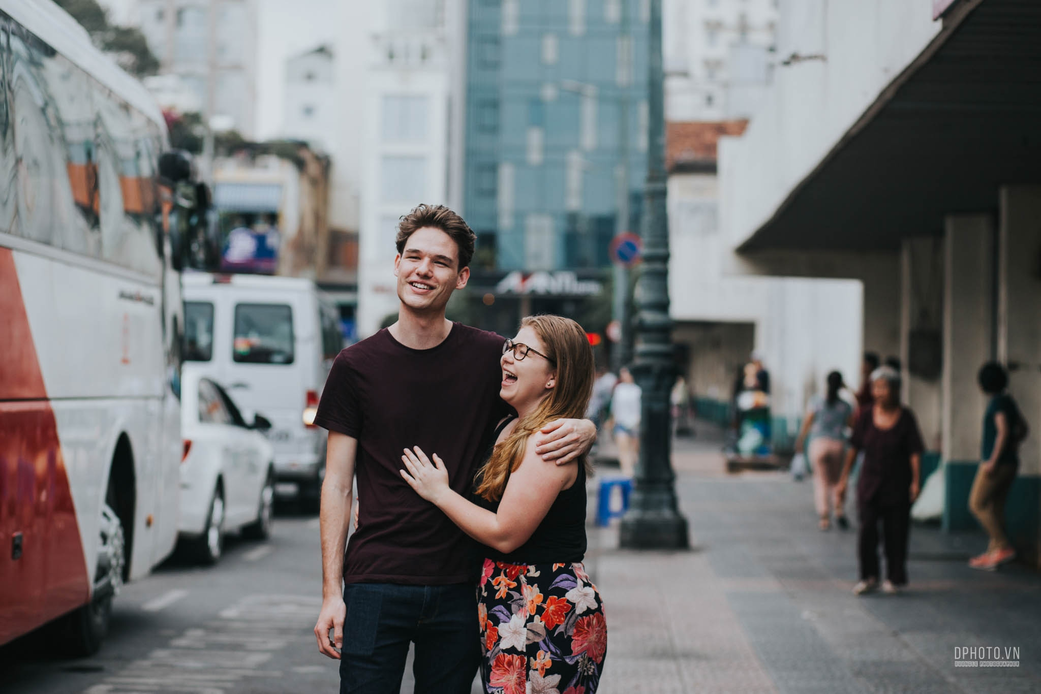 ho chi minh city engagement photo session 9