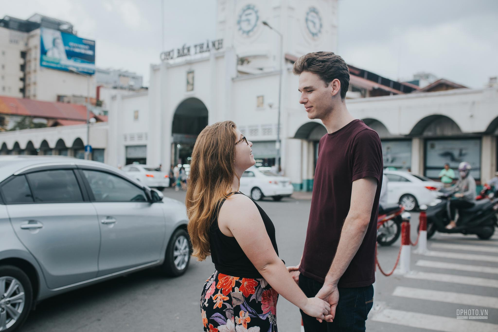 ho chi minh city engagement photo session 4