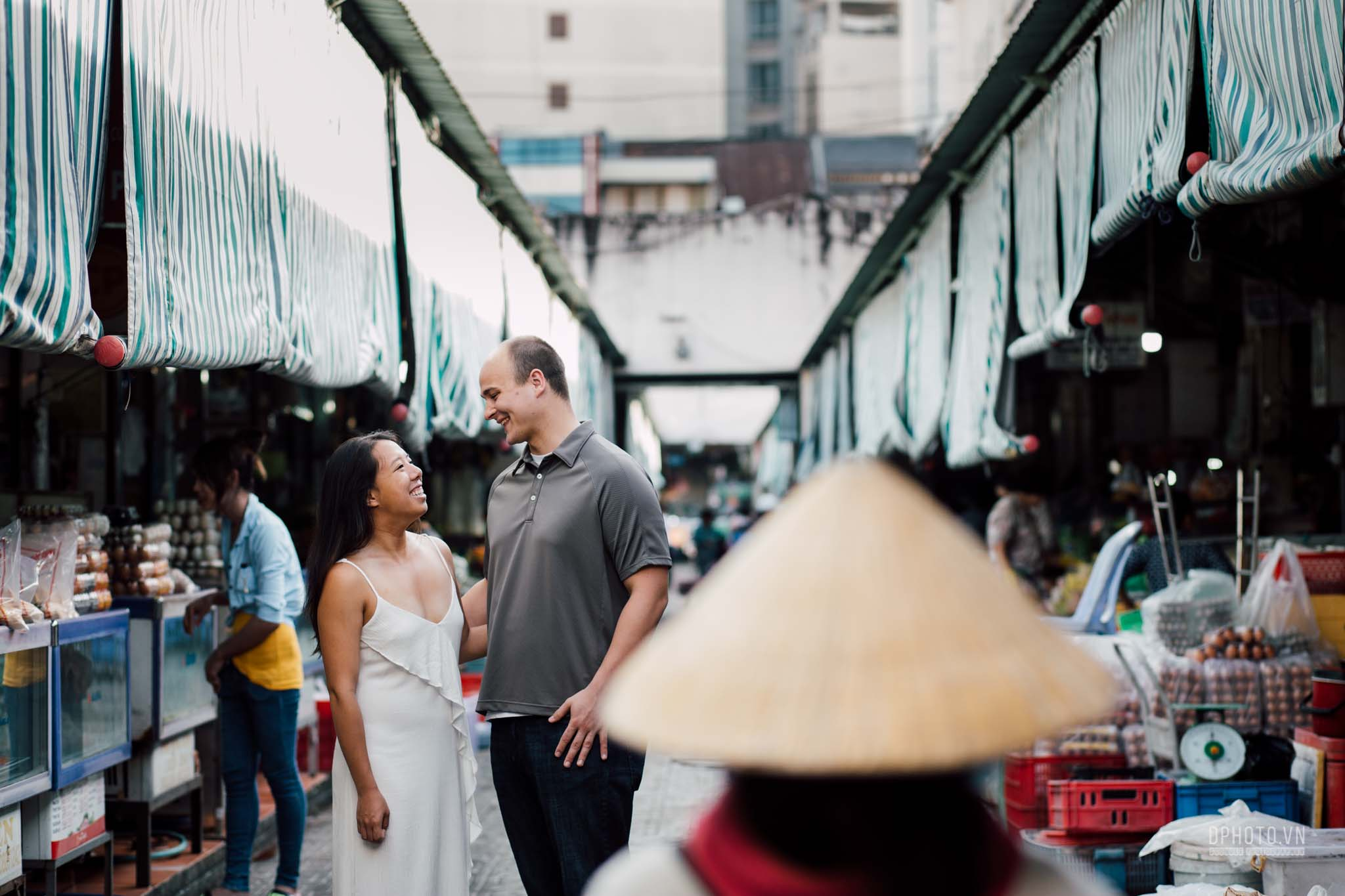 engagement photos in saigon vietnam