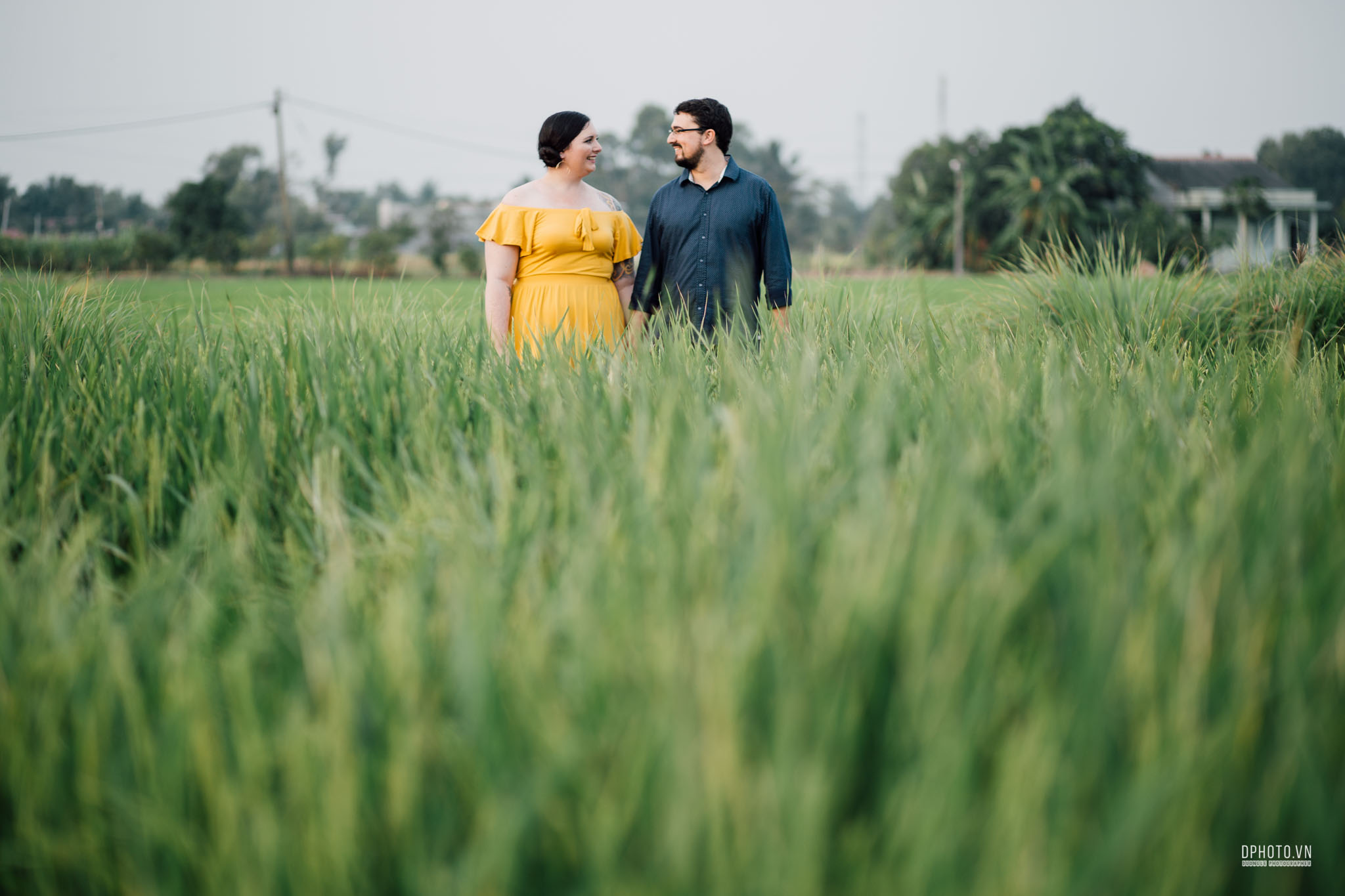 Engagement photos in vietnam