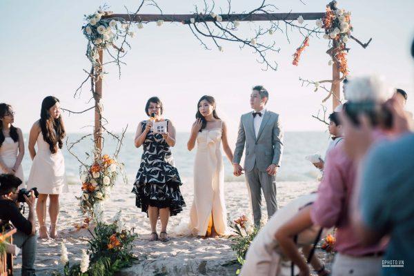 Ho Tram beach wedding