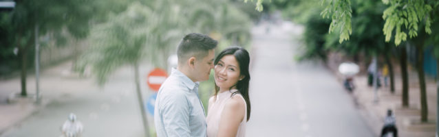 Engagement ho chi minh city photographer