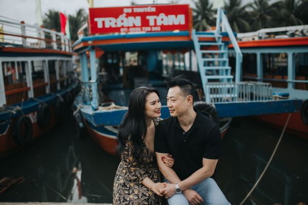Engagement photoshoot in Hoi An