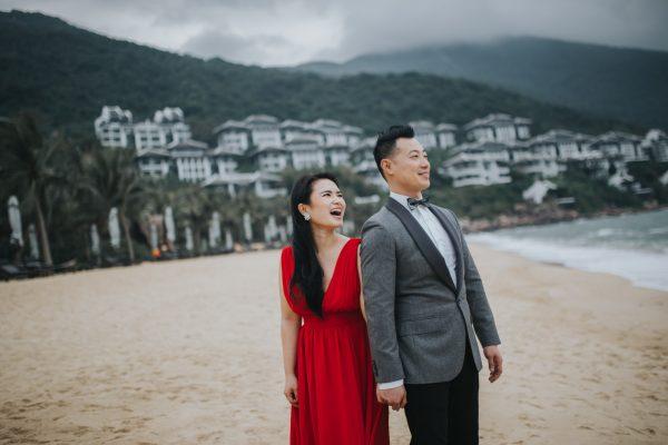 Engagement photoshoot in Intercontinental Da Nang