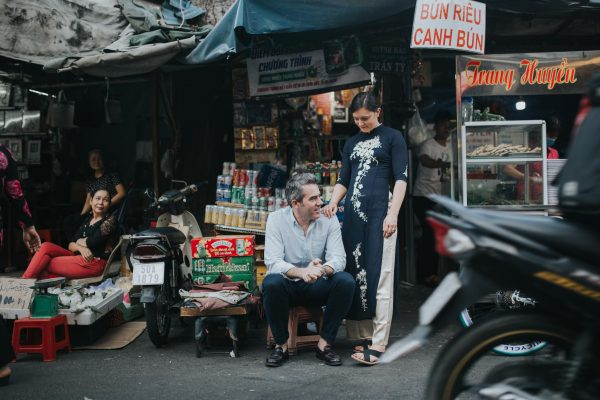 Couple photoshoot in Saigon